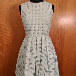 Mint Calvin Klein midi dress